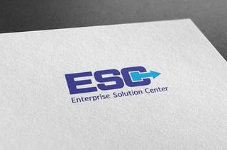 Logo ESC Mockup