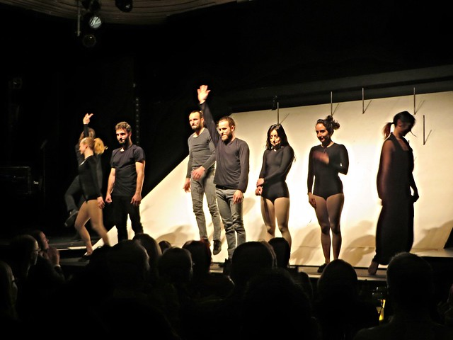man bun, performers at chamaeleon theatre, hackesche hofe, things to do in berlin, shows in berlin