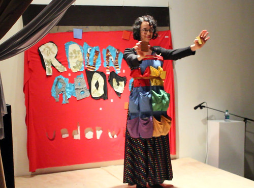 Exquisite Corpses: Making Art Together A Workshop with Theresa Columbus, August 2, 2015