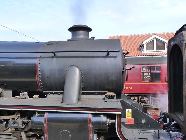Tren de vapor de North Yorkshire Moors
