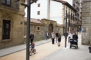 Calle de Marqués de Valdespina peatonalizada