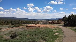 Reconstructed kiva at Pecos National Historical Park