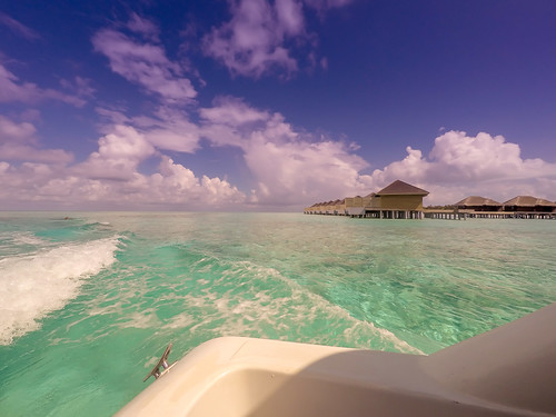 beach maldives atoll watervillas