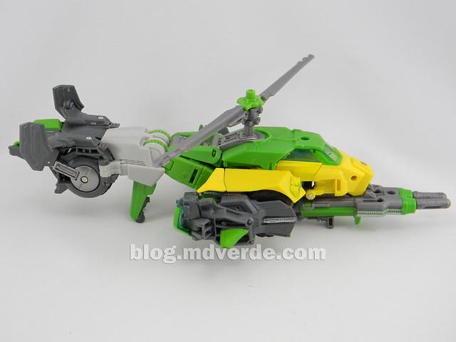 Transformers Springer Voyager - Generations - modo helicóptero