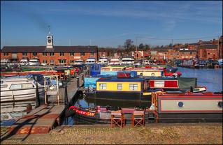 Boat basin, Stourport