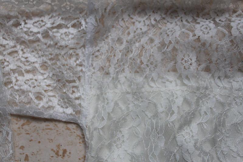 Detail mouwinzet