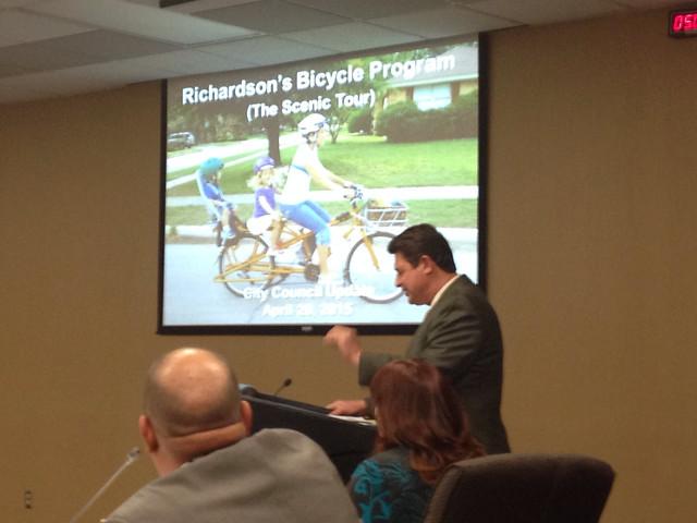 Richardson Bike Plan Briefing 2015