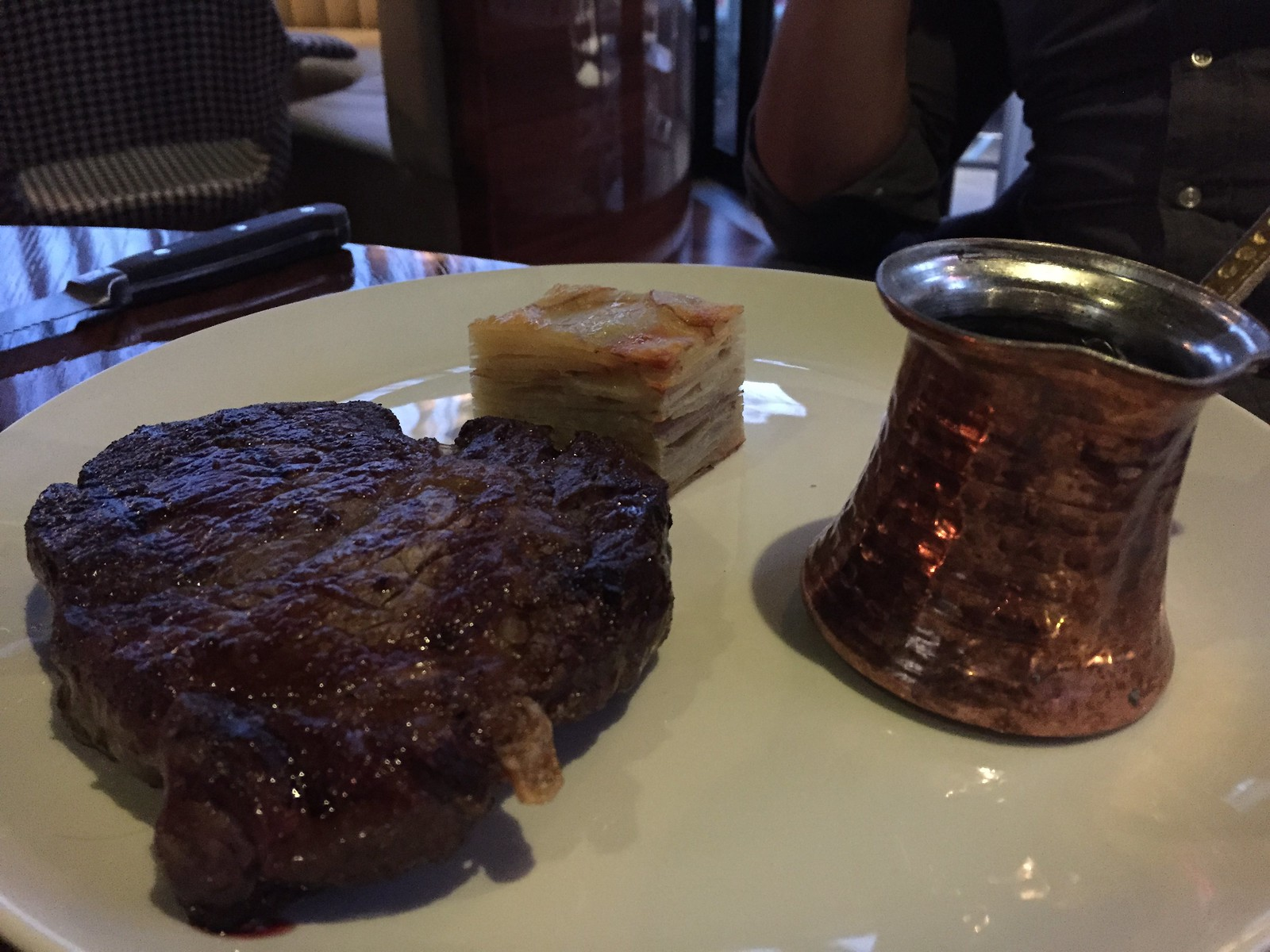 Dry aged scotch fillet - Dutchess Melbourne CBD