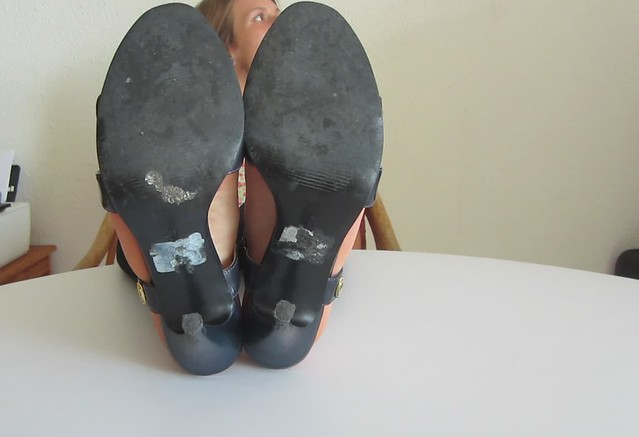 The mysterious woman soles size 6
