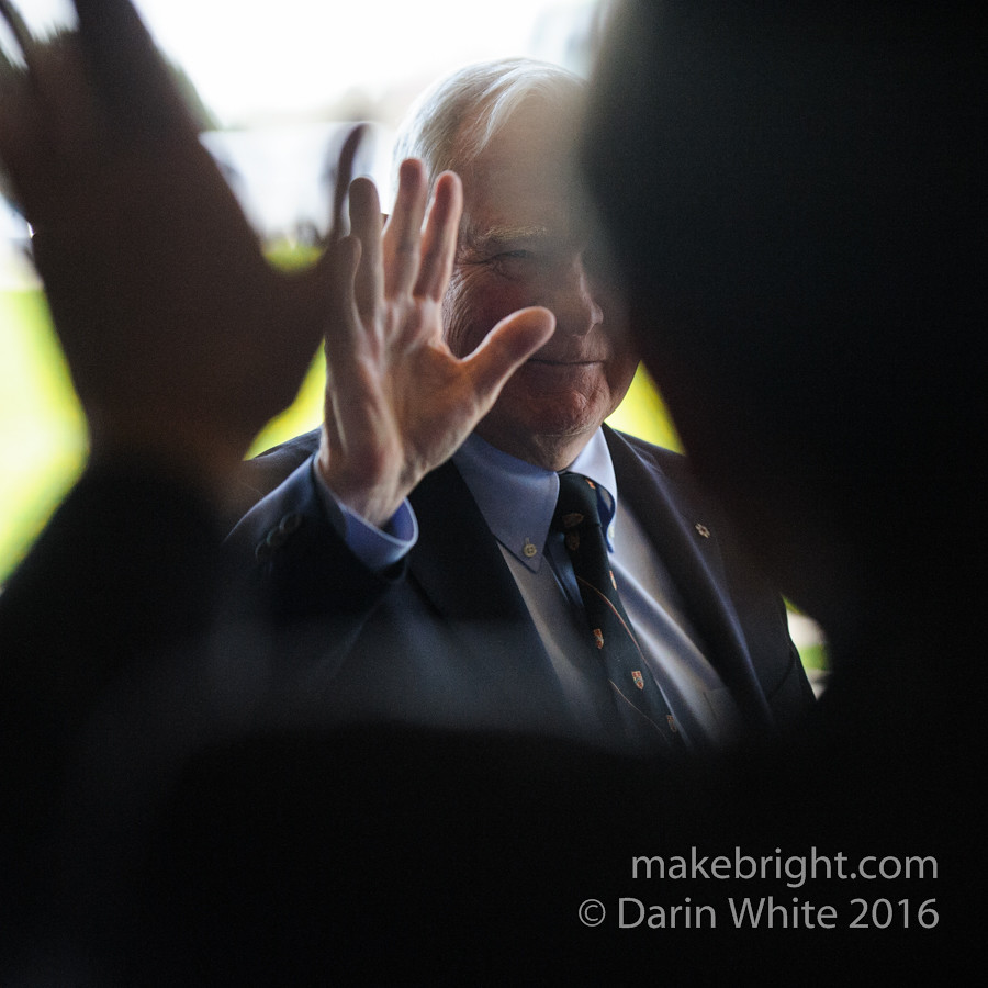 Governor General David Johnston at the AC - May 2016 260-2