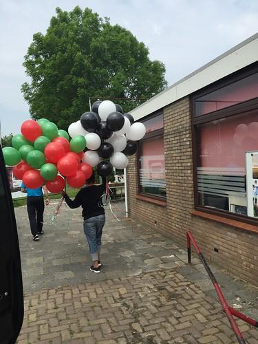 Heliumballonnen Amateurvoetbalclub PFC Geervliet