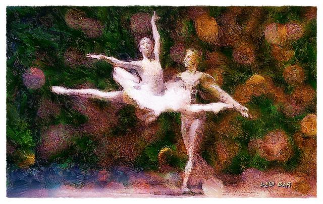 La Bayadere ~~ The Temple Dancer