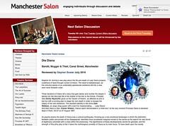 Die Diana review @manchestersalon 3-6 July @Bandit_MCR @stephenmhornby @inkbrew @Annaphylactic @heyworth_emily @alranorthgrads