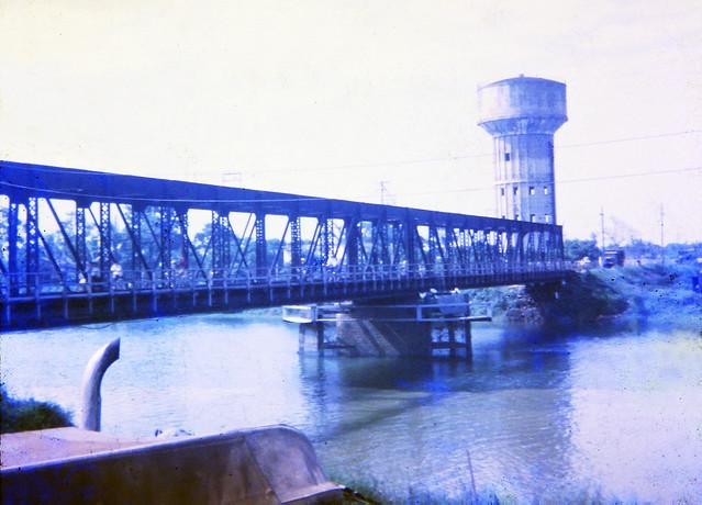 Hue Bridge 1970 - Cầu Bạch Hổ qua sông Hương