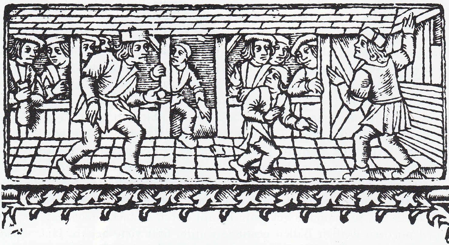 Medieval Tennis, France, c. 1510