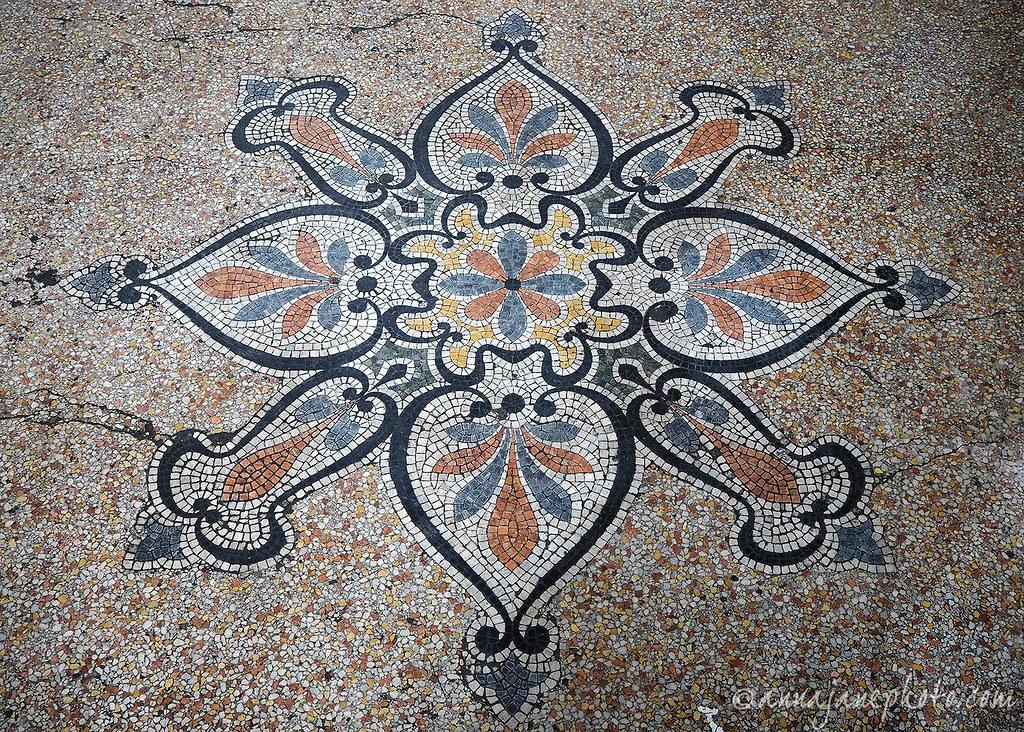 Methodist Central Hall Floor Tiles