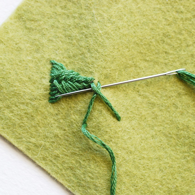 Sprats Head Stitch