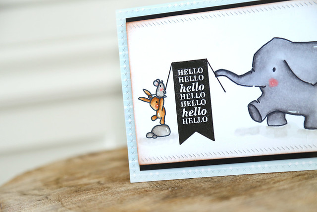 helloooo! {mama elephant stamp highlight}