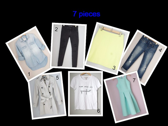 7 pieces 7 outfits, packing light_SydneysFashionDiary