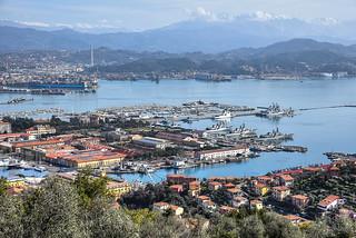 La Spezia. (porto militare)