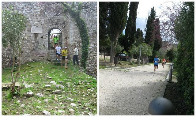 Το πέρασμα μέσα από το Κάστρο της Πάτρας ήταν από τα ωραιότερα σημεία της διαδρομής του αγώνα!