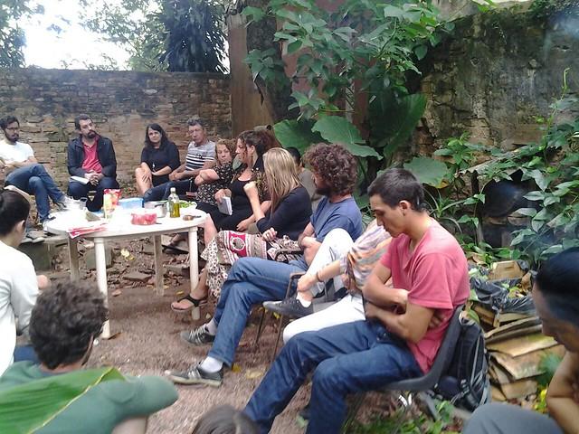 Guilherme Boulos, coordenador nacional do MTST, na CasaNat - 30/03/2015