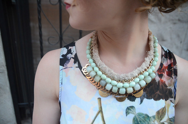 For the Makers Statement Necklace