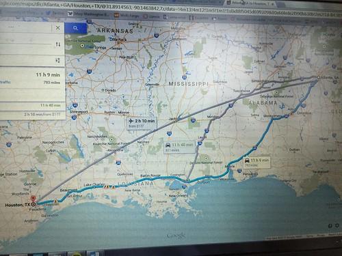 Atlanta to Houston