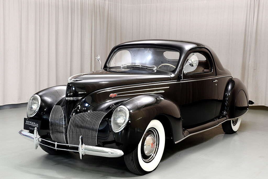 39008_C Lincoln Zephyr V12 3SPD Coupe_Black