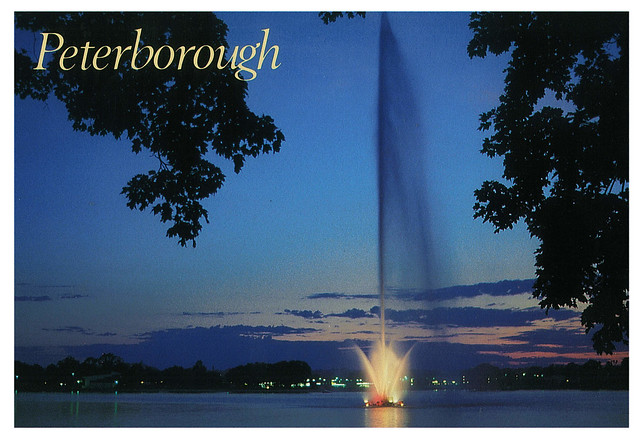 Ontario - Peterbourough - Centennial Fountain