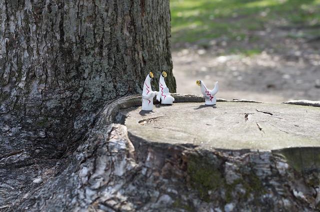 万博公園の妖精たち