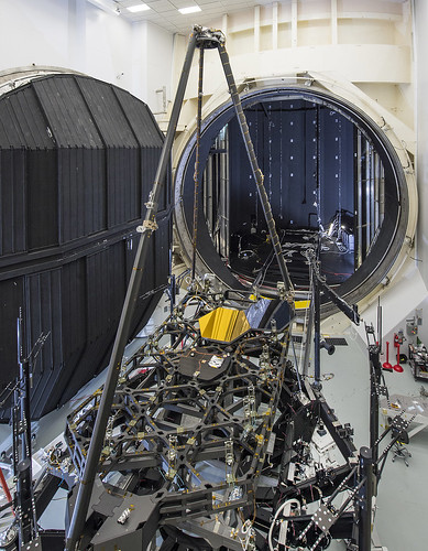 JWST Pathfinder in front of Chamber A
