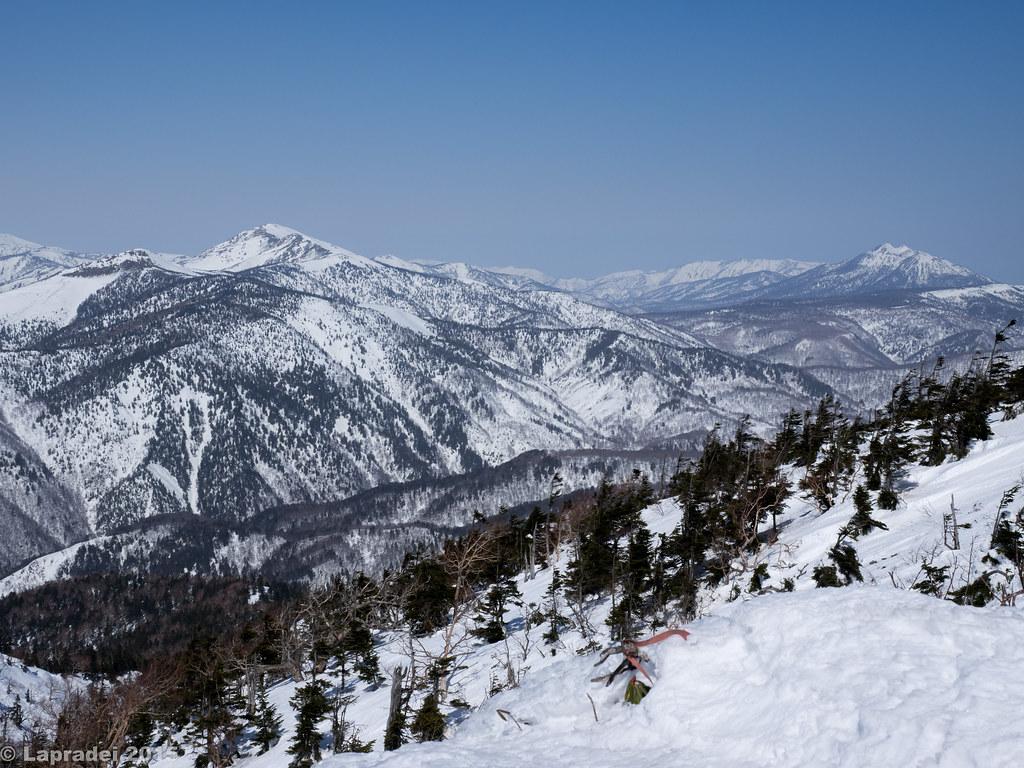 至仏山と燧ヶ岳