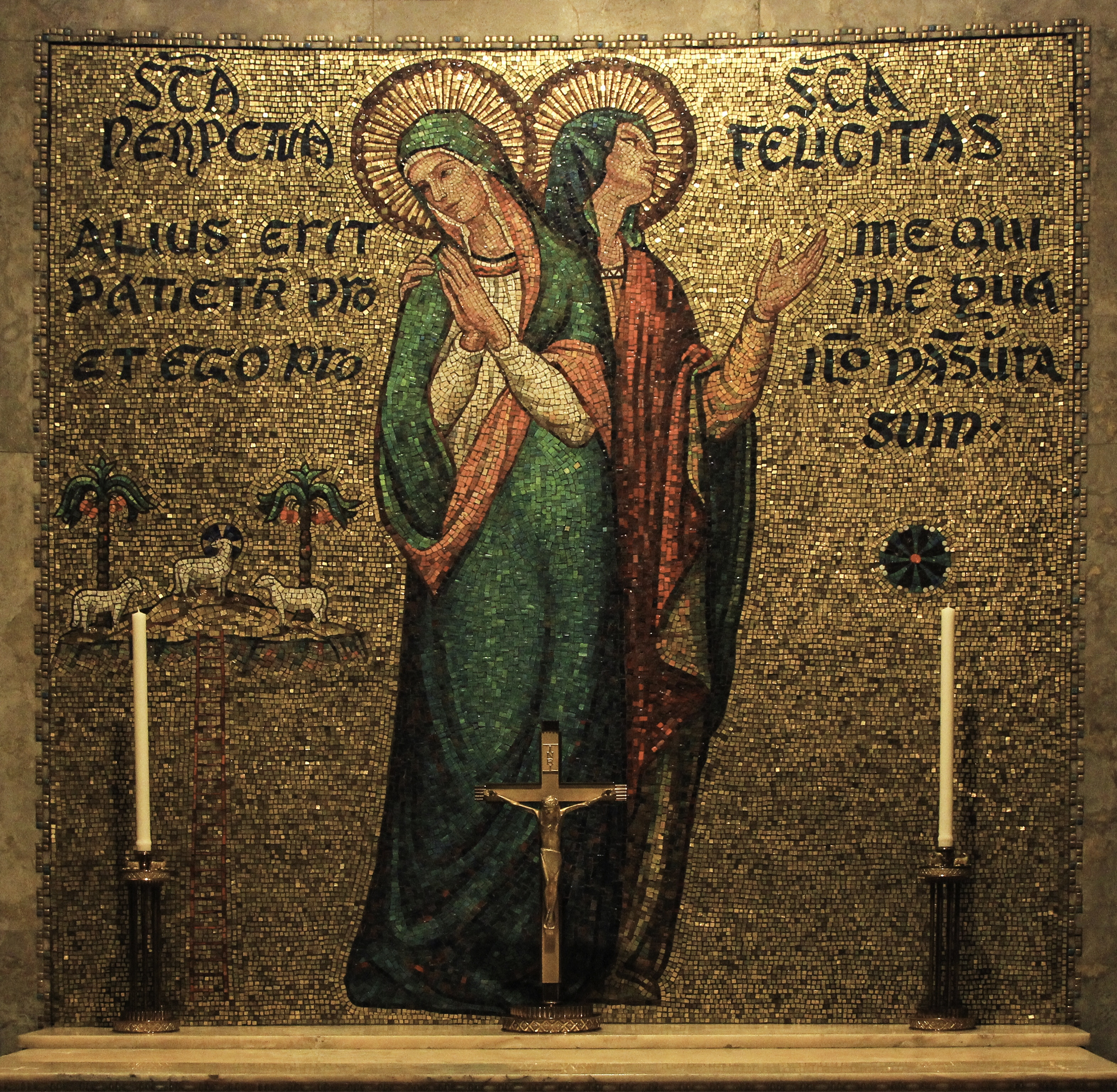 perpetua and felicity We have little idea what brought perpetua to faith in christ, or how long she had  been a christian, or how she lived her christian life thanks to her diary, and.