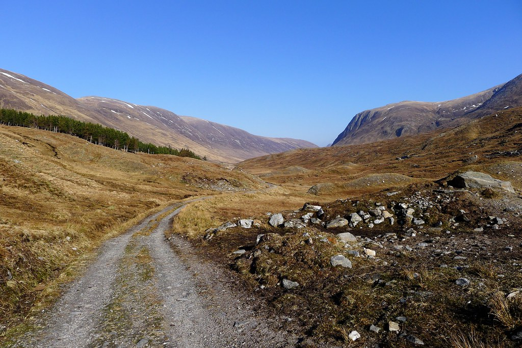 The track to Glenuaig