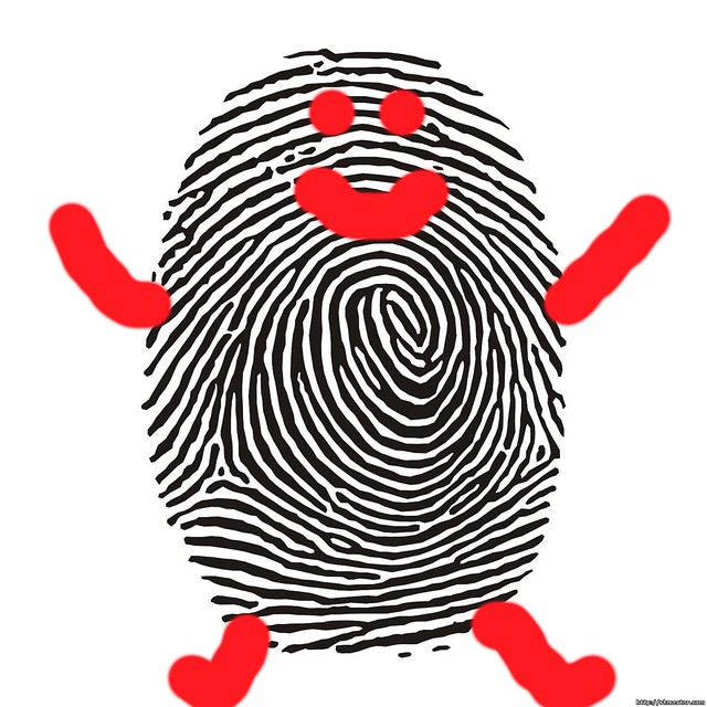 Fingerprint art