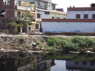 Untreated sewage from nearby localities flow into Buddah nullah which meets Satluj river.