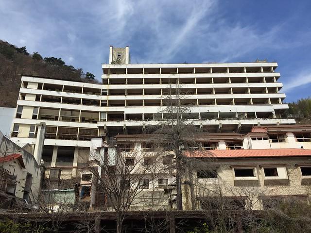 信州観光ホテル 廃墟ホテル