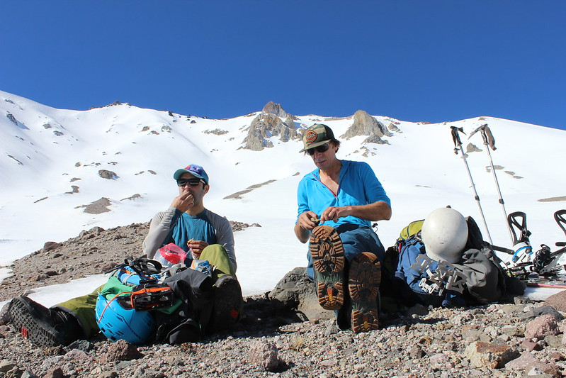 Break Time on the way up Lassen Peak