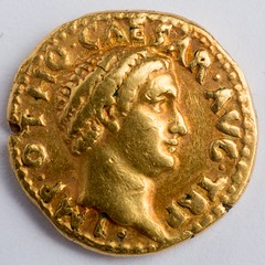 gold aurius of Otho in Lockwood collection
