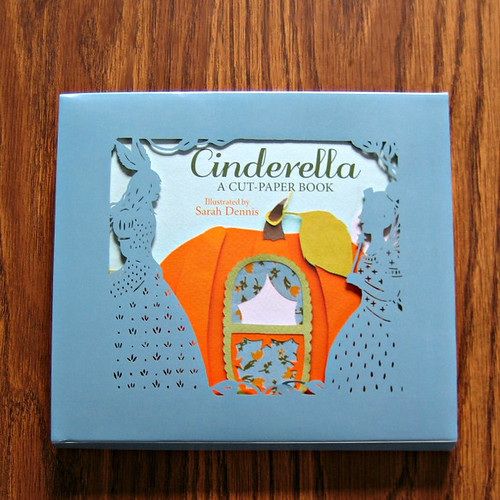 Cinderella - A Cut-Paper Book Review and Giveaway