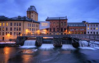 The Industrial Waterfalls