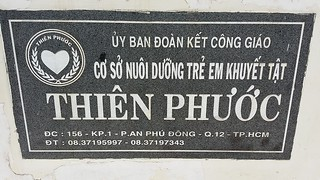 Daily Activities - Dr. Thanh-Tam (OBV Chair) at Thien Phuoc Disability Center for Children