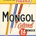 Mongol Colored Pencils—Points Like Needles! Strong as Nails! by Alan Mays