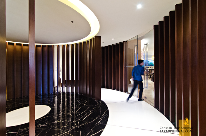 Luxent Hotel Lobby in Quezon City