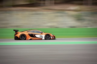 McLaren MP4 GT3 on spa