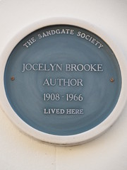 Photo of Jocelyn Brooke blue plaque