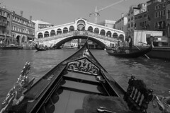 Venice - Gondola ride view 10