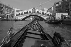 Venice - Gondola ride view 10