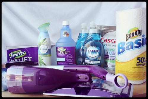 Le grand ménage du printemps avec les produits P&G - concours